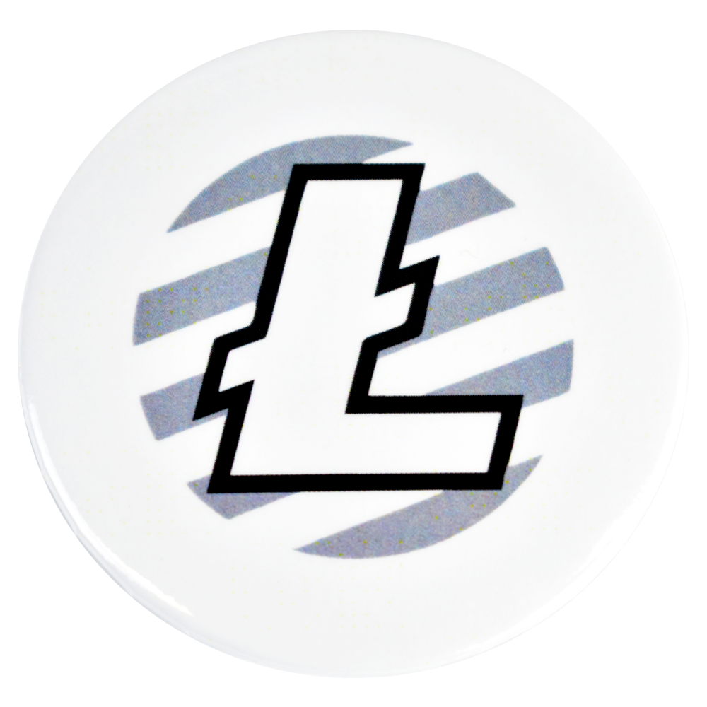 Litecoin fridge magnet