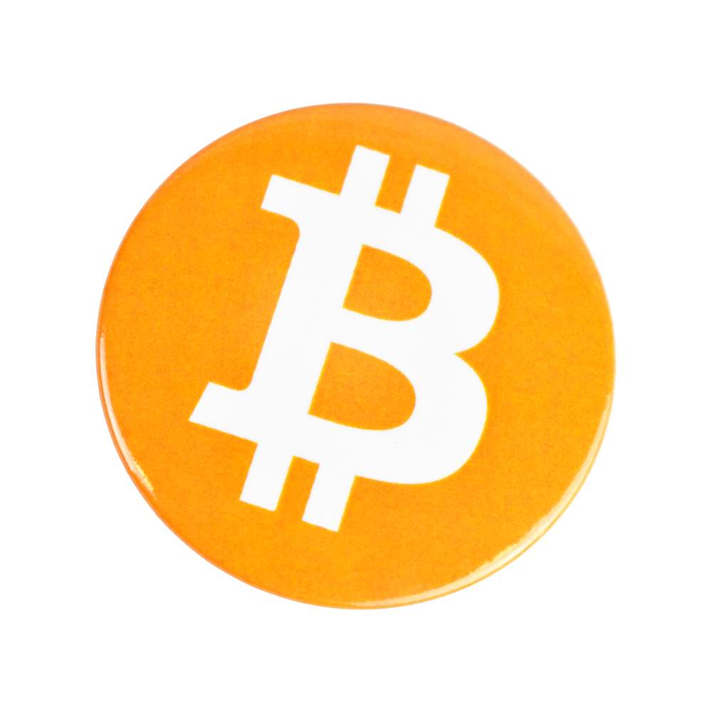 Bitcoin fridge magnet