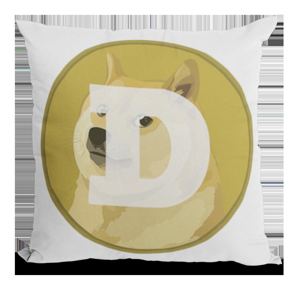 Poduszka Jasiek kryptowaluta Dogecoin