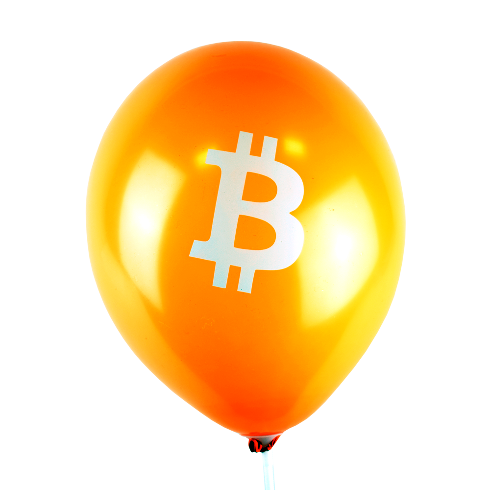 Balon dmuchany Bitcoin