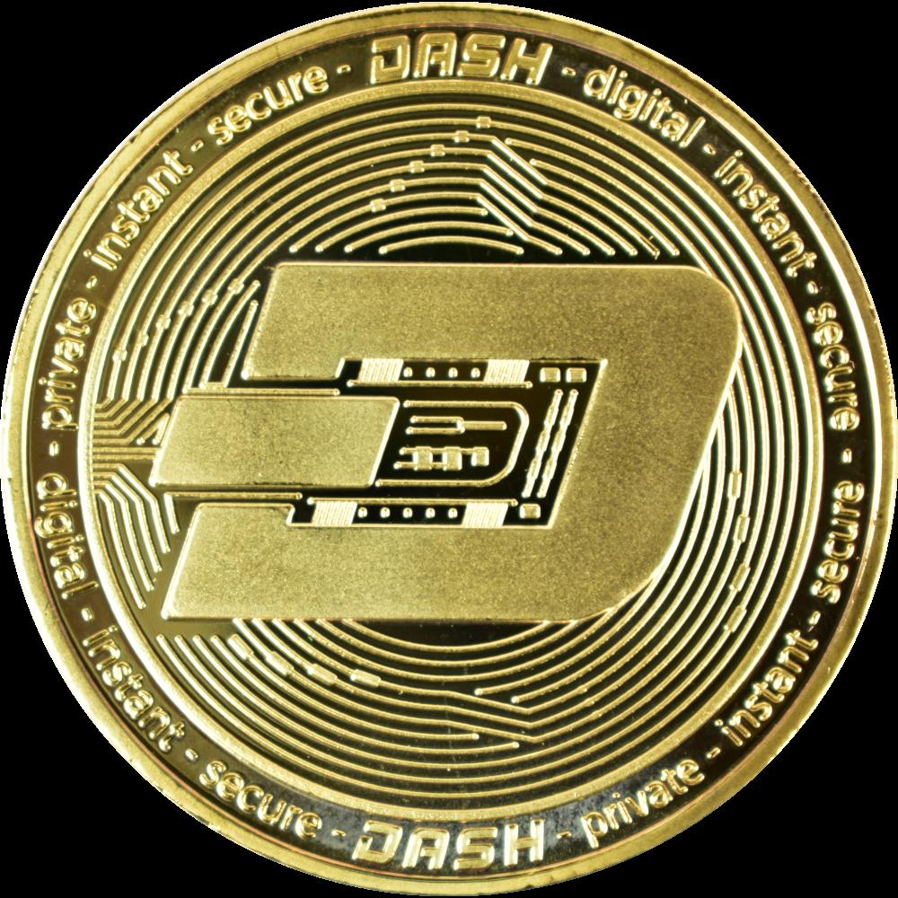 Moneta kolekcjonerska Dash Złota Zestaw