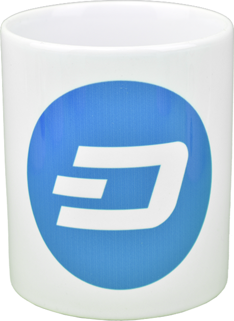 Ceramic mug with Dash logo