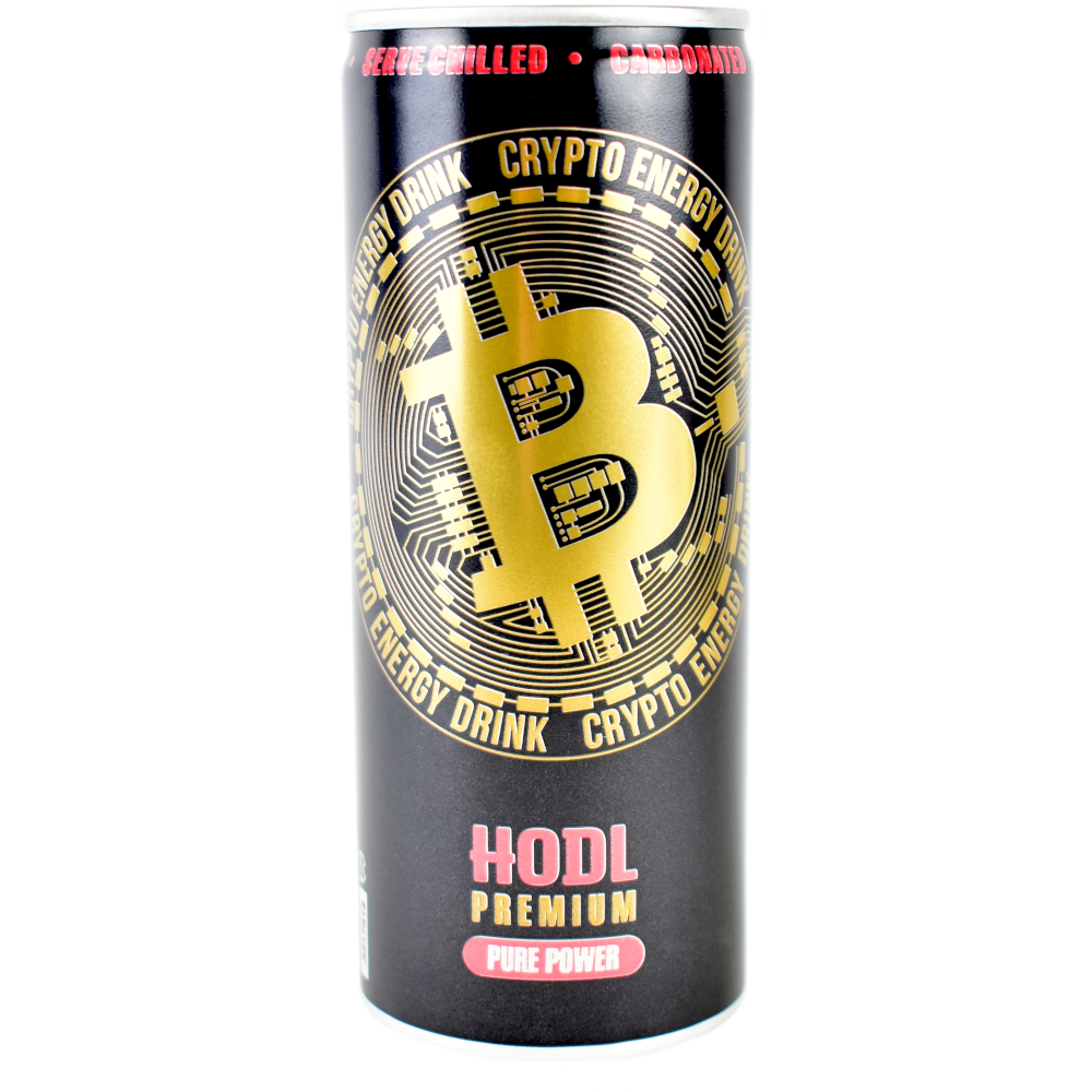 Krypto energy drink, Bitcoin energy drink