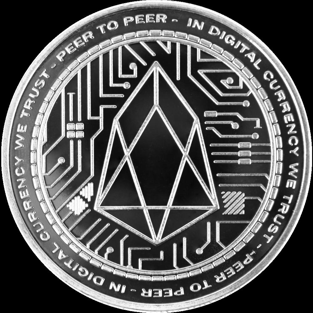 Ten collectors coins EOS silver