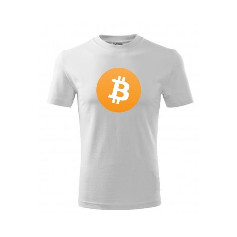 T-shirt Bitcoin Logo Cotton