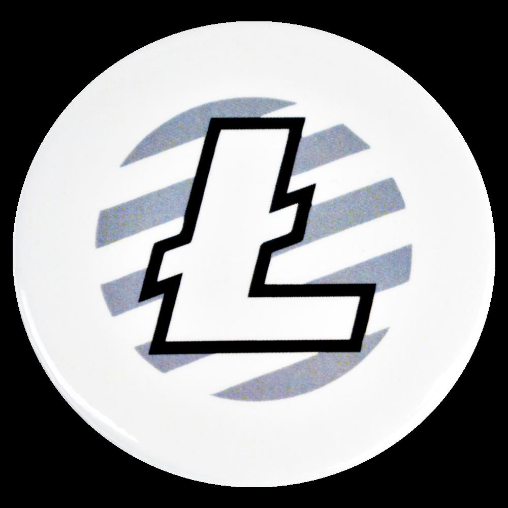 Magnes na lodówkę Litecoin