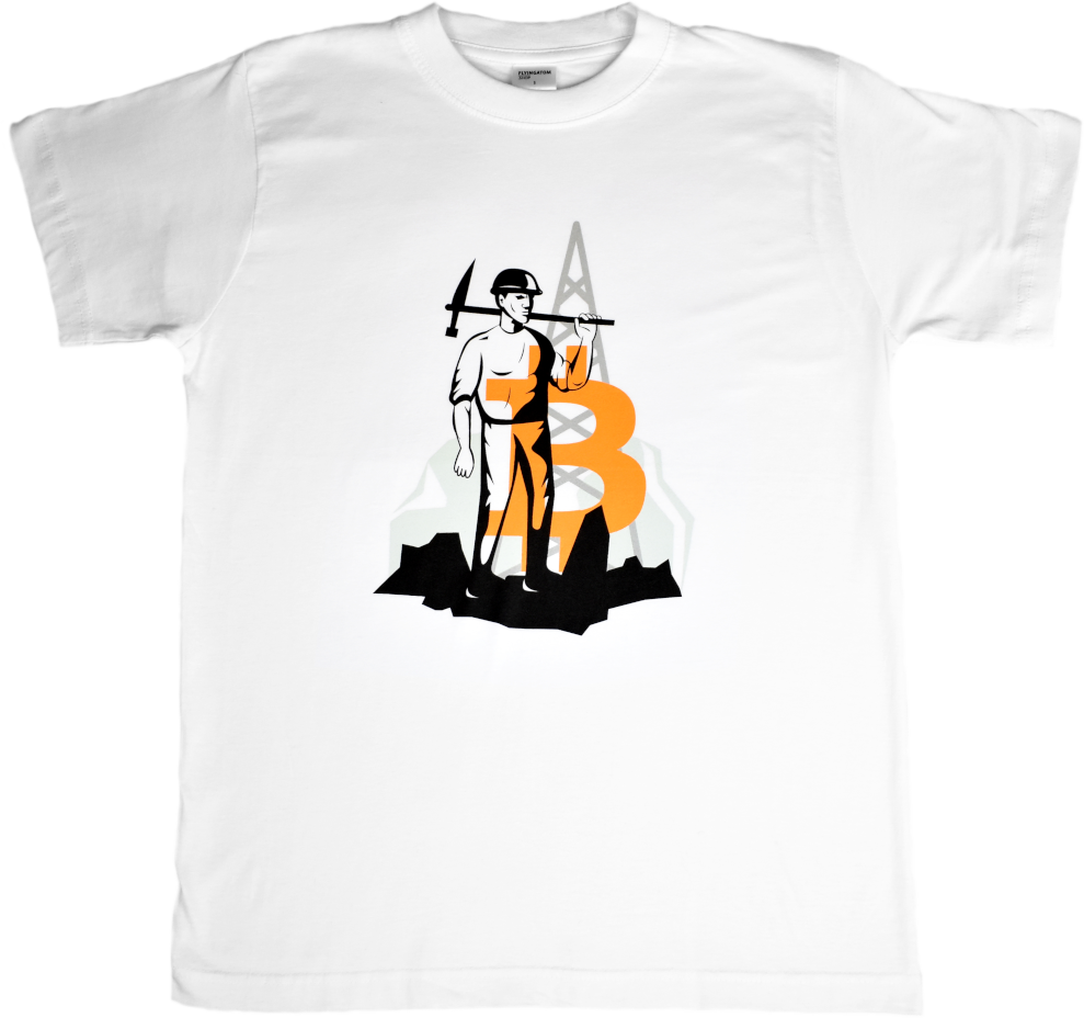 T-shirt Bitcoin Miner Cotton