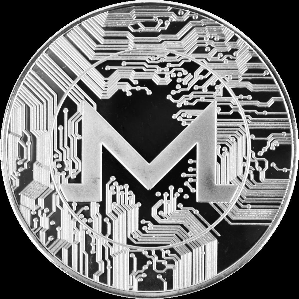 Moneta kolekcjonerska Monero Srebrna Zestaw