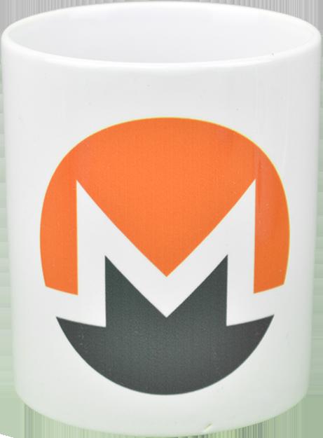 Ceramic mug with Monero  logo