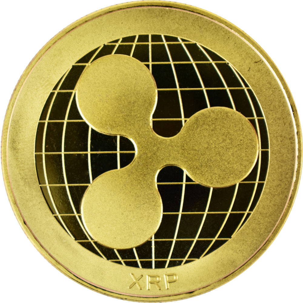 Ten collectors coins Ripple  gold