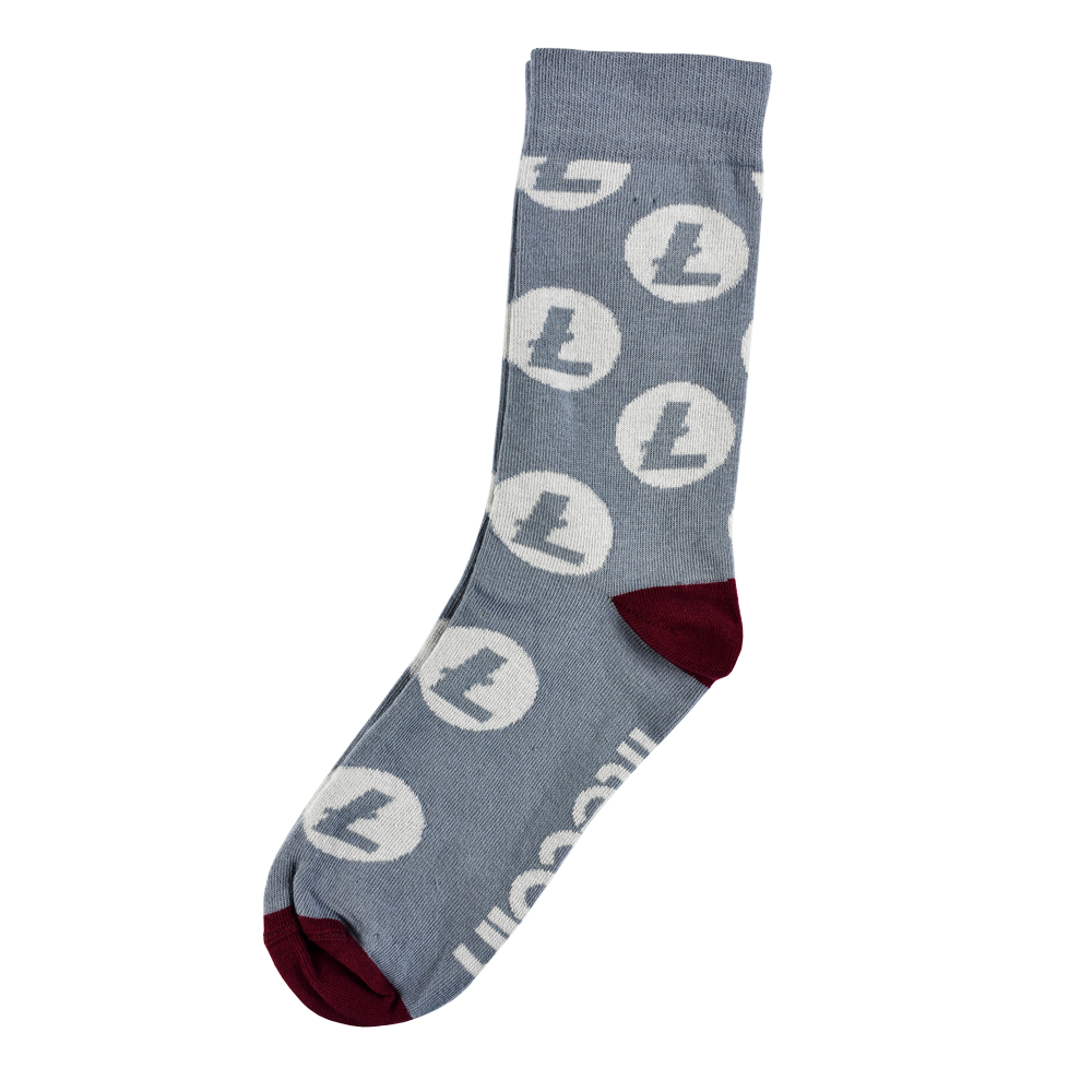 Cotton socks Litecoin