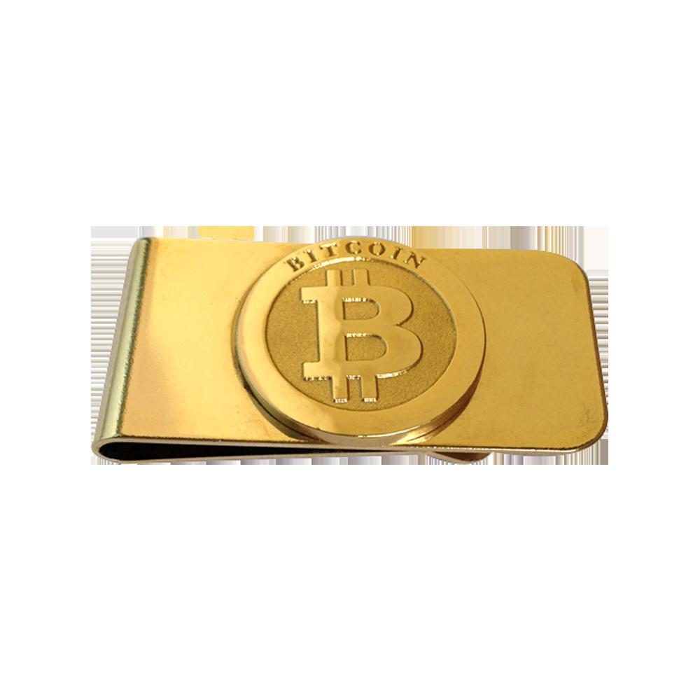 Spinka do banknotów Bitcoin