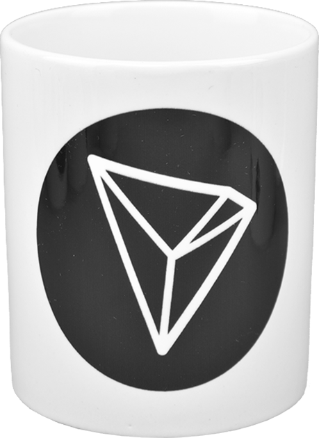 Ceramic mug with Tron  logo