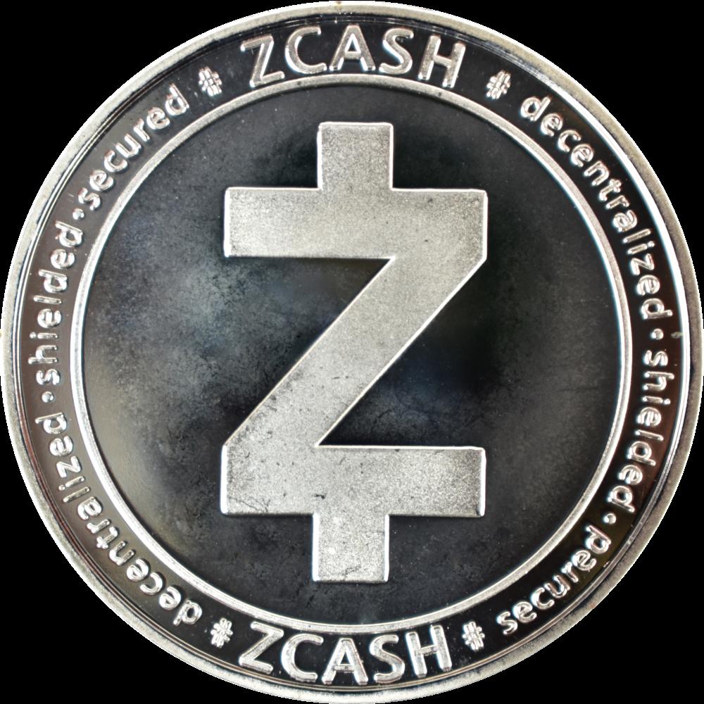 Moneta kolekcjonerska Zcash Srebrna Zestaw