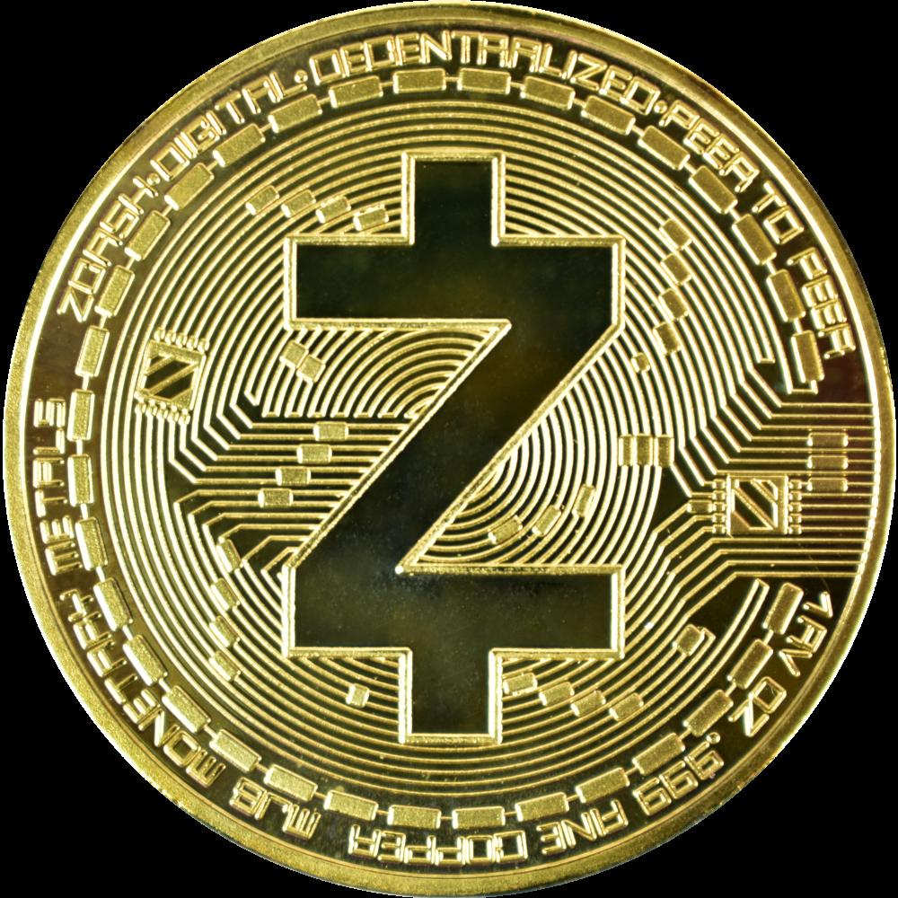 Moneta kolekcjonerska Zcash Złota Zestaw