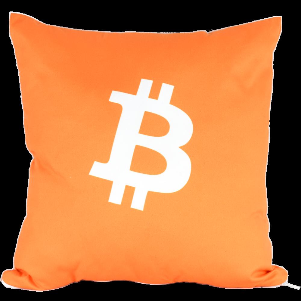 Poduszka Jasiek kryptowaluta Bitcoin