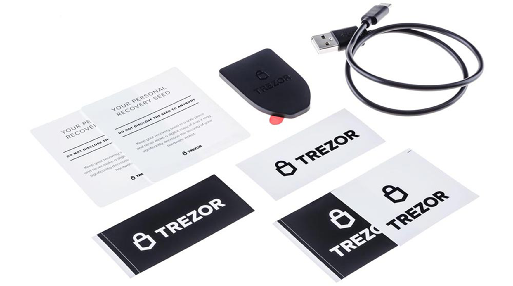 Trezor box include