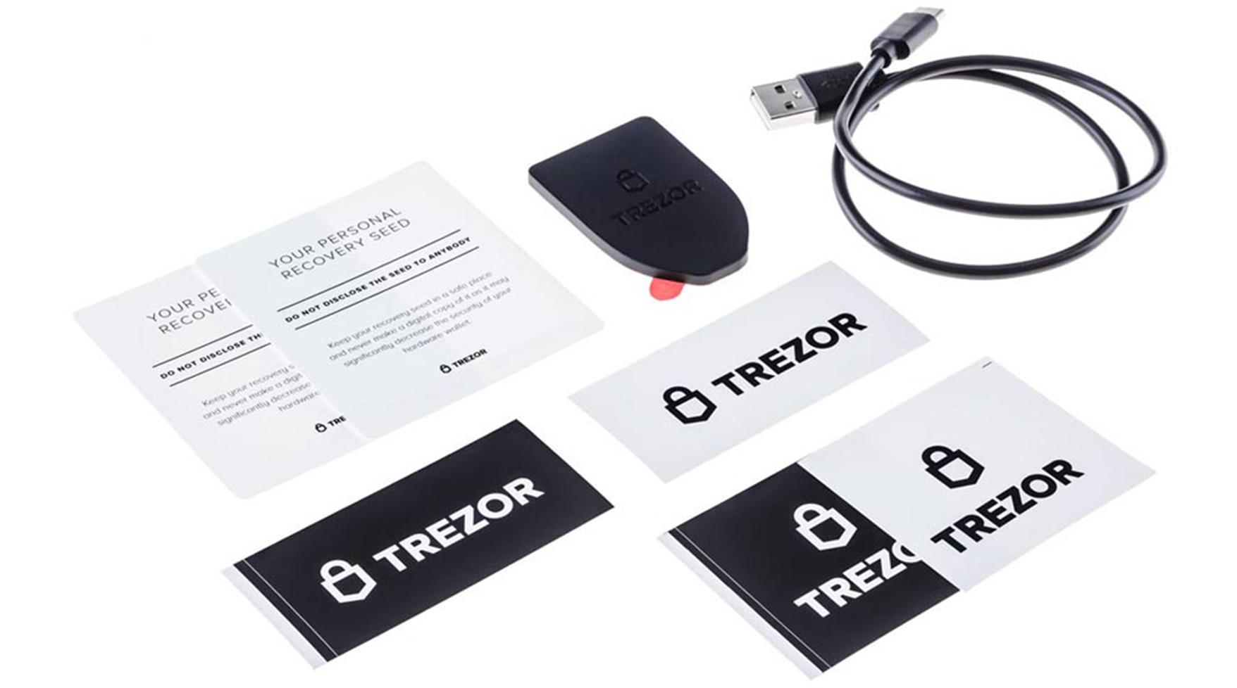 Trezor box include